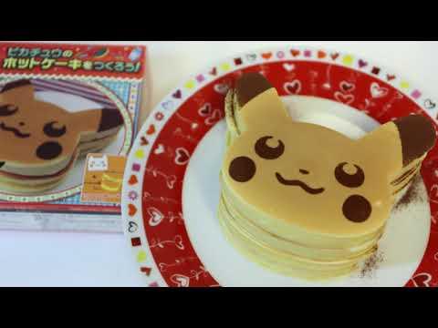 Pokemon Pikachu Hot Cake Easy Making Kit ~ ピカチュウのホットケーキをつくろう!