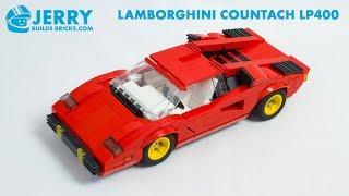 LEGO Lamborghini Countach LP400 instructions (MOC #90)