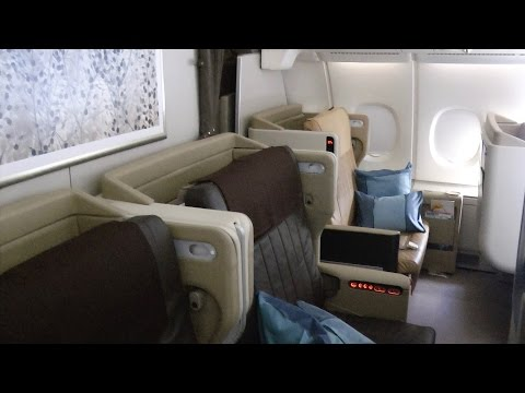 A380-800 Business Class Singapore Airlines SQ232: Sydney to Singapore