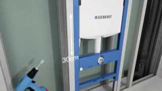 Инсталляция GEBERIT Duofix UP320 ( для системы KNAUF из ГВЛ)