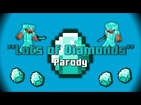 """Lots of Diamonds"" Congratulations by Post Malone MINECRAFT Parody #1"