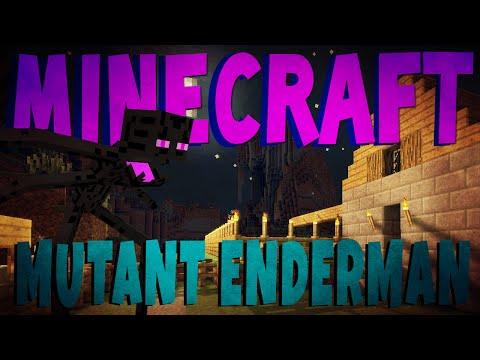 Minecraft Mod Showcase (Mutant Creatures)   CRAZY ENDERMAN  