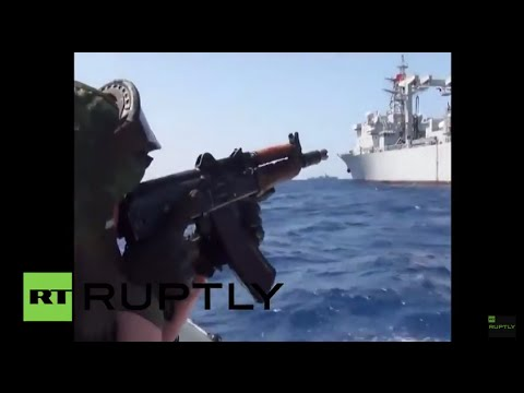 International Waters: See Russian-Chinese anti-terror drills in the Med
