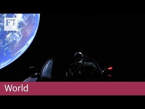 Elon Musk celebrates successful Falcon Heavy rocket launch