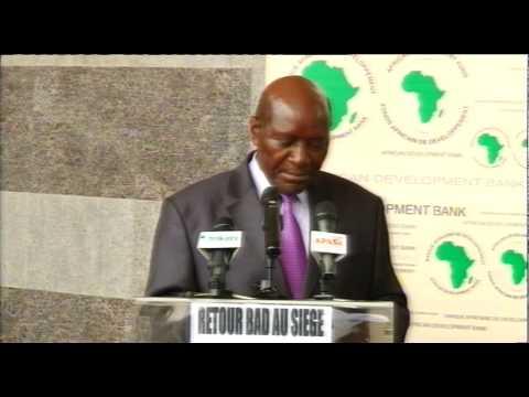APA-RCI-Retour officiel de la BAD à Abidjan
