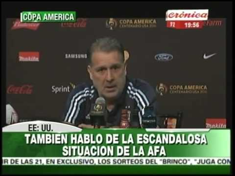 Copa América | Conferencia de prensa de Gerardo Martino