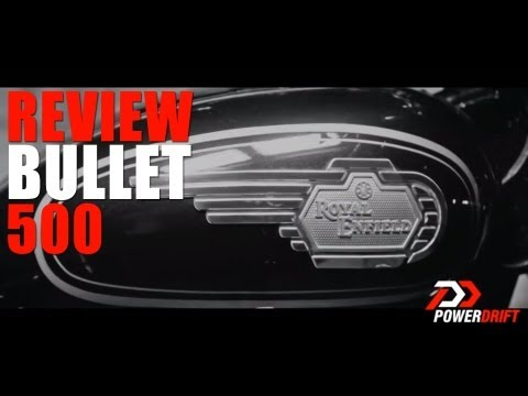 Royal Enfield New Bullet 500 Review : PowerDrift