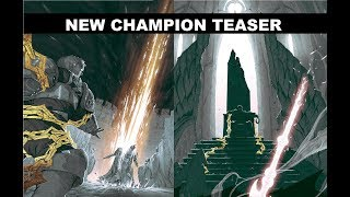 New Champion Teaser Preview (non-official) - League of Legends