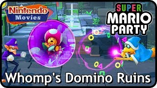 Super Mario Party: Whomp's Domino Ruins (2 players, 20 turns, Master Difficulty)