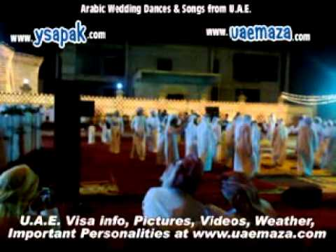 Arabic Traditional Dance And Acrobats At Wedding Party In Diba Fujaria Uae Near Gulf Of Oman video