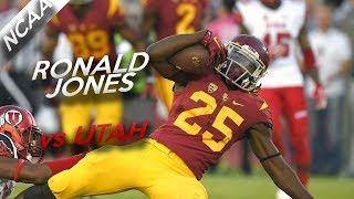 Ronald Jones Highlights vs Utah // 17 Carries for 111 Yards, 1 TD // 10.14.17