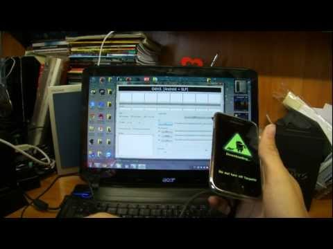 Перепрошивка Samsung Galaxy S i9000 android 2.3.5 + root (Европейская)