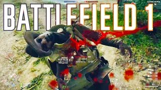 Battlefield 1 Funny Moments - NEW Domination Gameplay!
