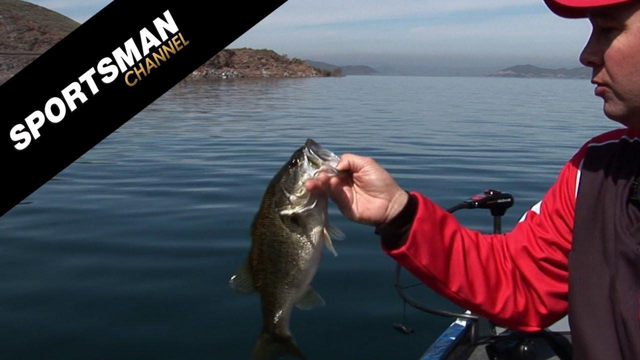 Pre spawn deep water bass fishing techniques with jarrett for Deep water bass fishing