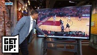 Jalen Rose breaks down film from Warriors' Game 1 win over Rockets | Get Up! | ESPN