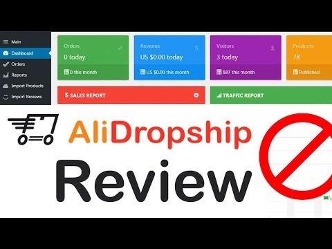 AliDropship Plugin Review - Inside Look at AliDropship