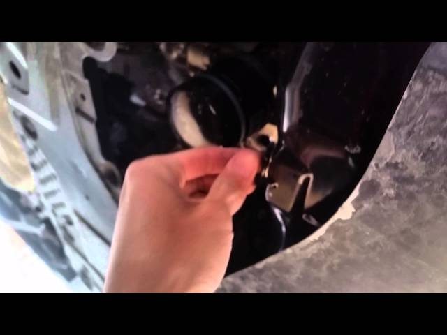 How to change oil on Mazda CX-5 - YouTube