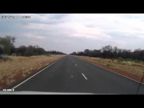 Video 275-Stuart Highway - ~34km south of Ti-Tree to Native Gap