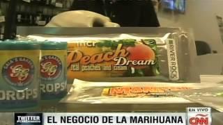 El negocio de la marihuana en Colorado, EU