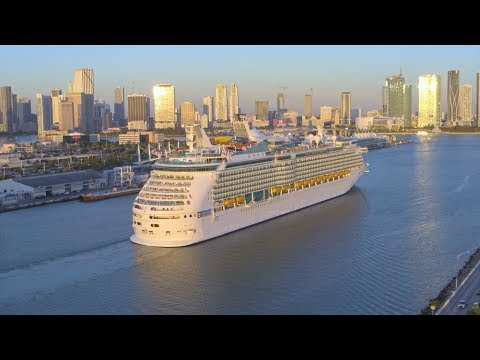 Navigator of the Seas now sailing from Miami