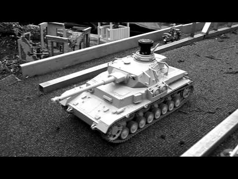 1/16 R/C panzer IV tank and King Tiger