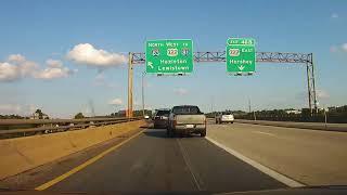 Driving around Harrisburg, Pennsylvania