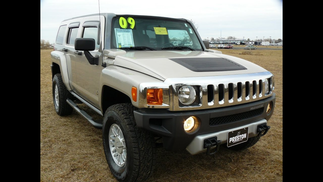 Used Car For Sale Maryland 2009 Hummer H3 4wd Youtube
