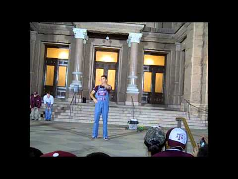 Fightin' Texas Aggie Yell Practice (1 of 2) 11/24/2010