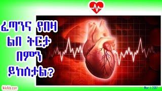 ፈጣንና የበዛ ልበ ትርታ በምን ይከሰታል? Heart beat and health effects - VOA