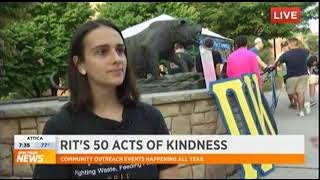 RIT on TV: 50 Acts of Kindness: Recover Rochester