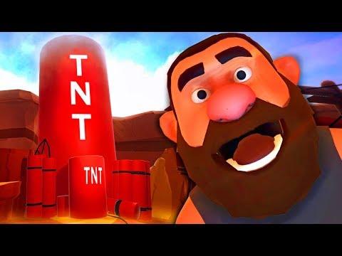 С ДИНАМИТОМ В ОБНИМКУ! TNT ► Suicide Guy Sleepin' Deeply #2 Прохождение