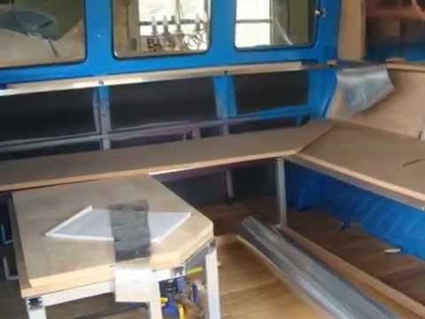 Part 2: VW Split Interior Project - VW Campervan Interiors