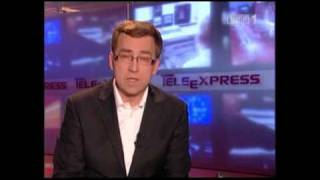 AINU - Teleexpress - TVP1 - Poland 12.10.2010 - New AINU RaRoTonga CD9 Release