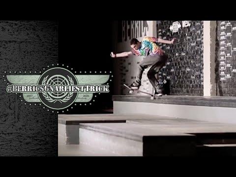 Torey Pudwill's Legendary Backside Tailslide | Berrics Gnarliest Trick