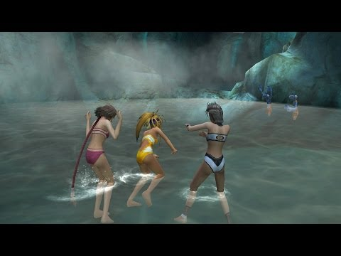 Final Fantasy X-2 HD - Hot Spring Scene thumbnail