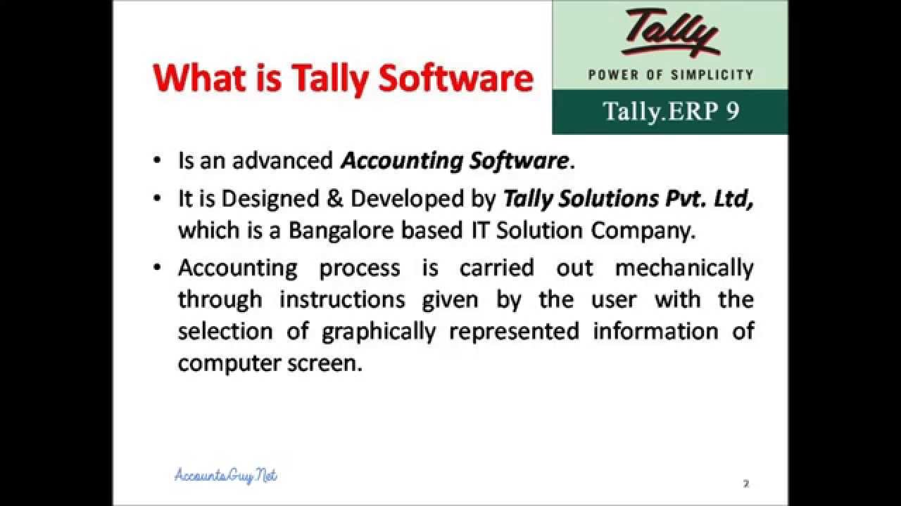 tally with accounting concept Understand the concept of taxation, vat, and impact of vat on business tallys article corner for vat and related topics be vat ready with tallyerp 9.