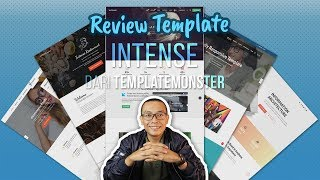 Review Template | INTENSE (dari TemplateMonster)