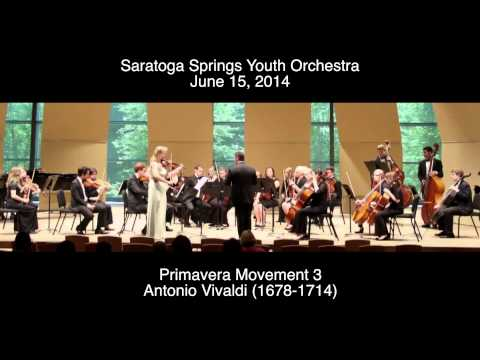 Antonio Vivaldi - La Primavera Movement 3
