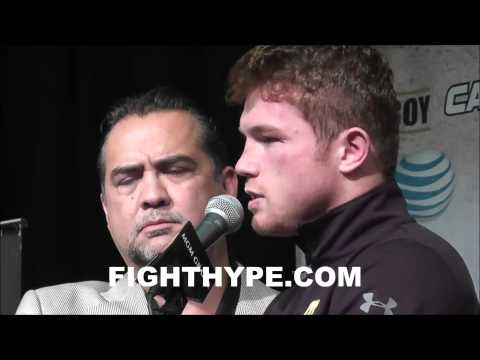 CANELO DISCUSSES 10TH ROUND STOPPAGE OF ALFREDO ANGULO I WAS READY TO STAND TOETOTOE