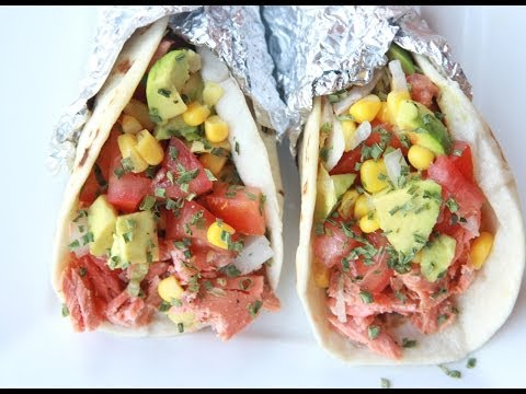 Salmon Tacos Recipe (Citrus Brown Butter)