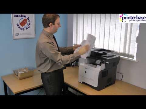 HP LaserJet Pro M521 Mono Laser Multifunction Printer Review