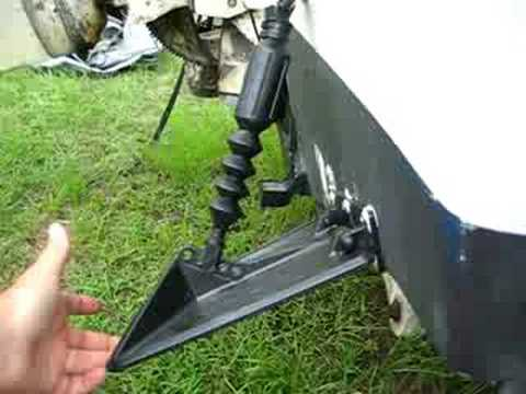 Smart tabs sx trim tabs installation youtube for Outboard motor trim tab