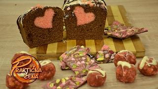 Praktična žena - Srce kolač