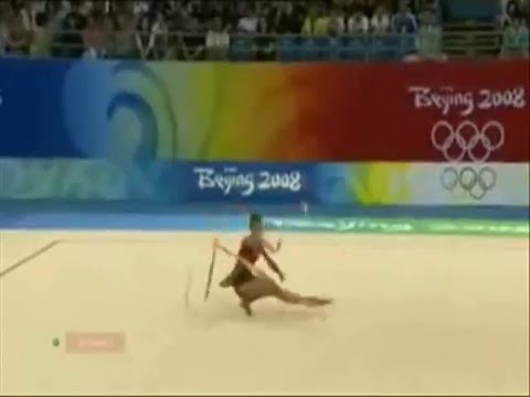 Beijing 2008 - Rhythmic Gymnastic - Ribbon