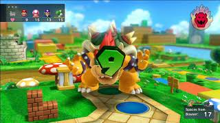 Mario Party 10 - Team Bowser Vs. Team Mario - Mushroom Park