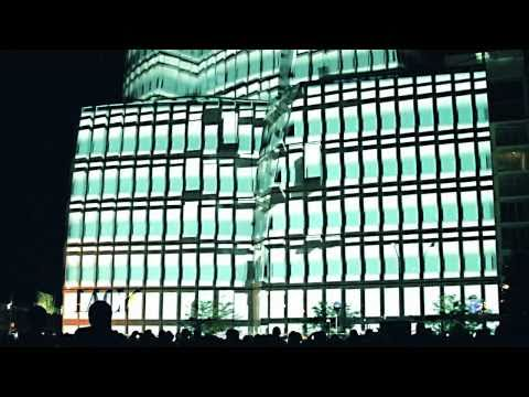 Vimeo Festival IAC Projection Mapping
