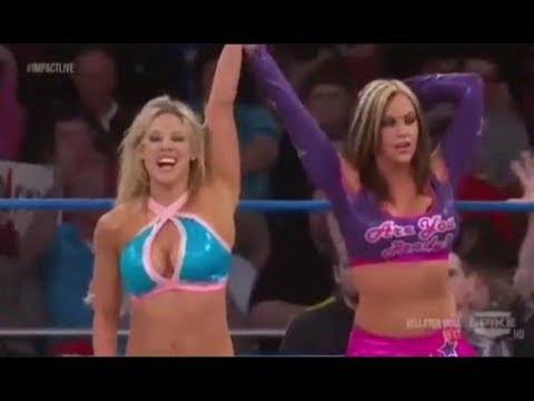 Knockouts Q&a The Beautiful People - Taryn Terrell Return - Kelly Kelly To Tna - Fail Kim - Shanna video