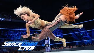 Charlotte Flair vs. Becky Lynch: SmackDown LIVE, June 5, 2018