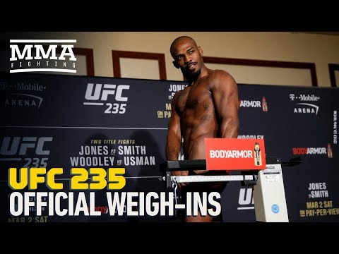 UFC 235 Official Weigh-In Highlights – MMA Fighting