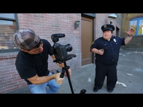 Filming at Universal Studios - Behind The Scenes
